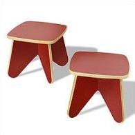 Ecotots fire surfin stool